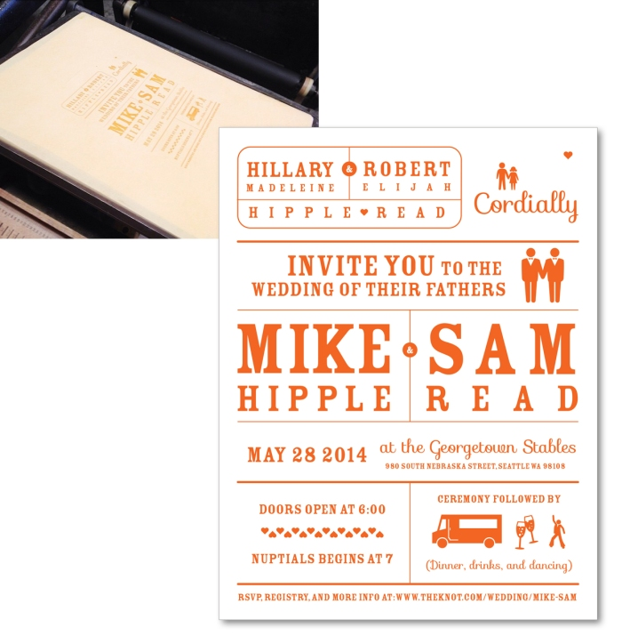 Mike and Sam Wedding Invite